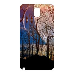 Full Moon Forest Night Darkness Samsung Galaxy Note 3 N9005 Hardshell Back Case