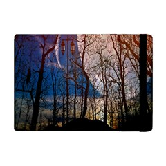 Full Moon Forest Night Darkness iPad Mini 2 Flip Cases