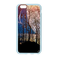 Full Moon Forest Night Darkness Apple Seamless iPhone 6/6S Case (Color)
