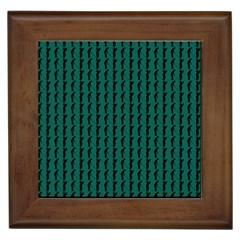 Golf Golfer Background Silhouette Framed Tiles