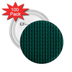 Golf Golfer Background Silhouette 2.25  Buttons (100 pack)