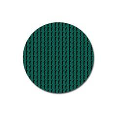 Golf Golfer Background Silhouette Magnet 3  (round)