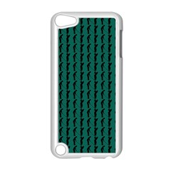 Golf Golfer Background Silhouette Apple Ipod Touch 5 Case (white)