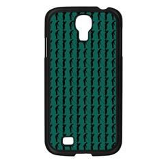 Golf Golfer Background Silhouette Samsung Galaxy S4 I9500/ I9505 Case (black)