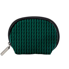 Golf Golfer Background Silhouette Accessory Pouches (Small)