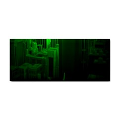 Green Building City Night Cosmetic Storage Cases