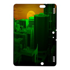 Green Building City Night Kindle Fire HDX 8.9  Hardshell Case