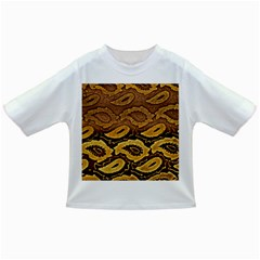 Golden Patterned Paper Infant/Toddler T-Shirts
