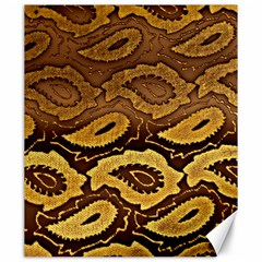 Golden Patterned Paper Canvas 20  x 24