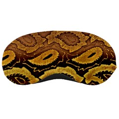 Golden Patterned Paper Sleeping Masks