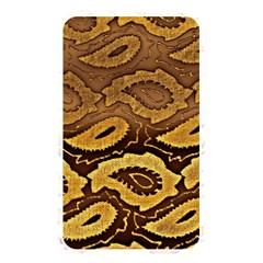 Golden Patterned Paper Memory Card Reader