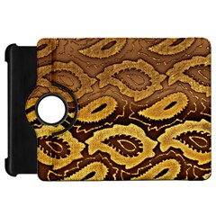 Golden Patterned Paper Kindle Fire HD 7