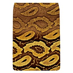 Golden Patterned Paper Flap Covers (S)