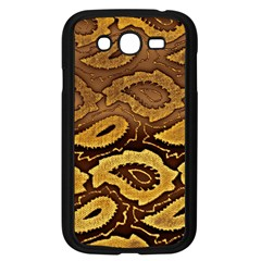 Golden Patterned Paper Samsung Galaxy Grand DUOS I9082 Case (Black)