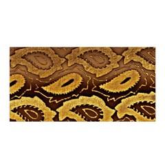 Golden Patterned Paper Satin Wrap