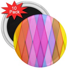 Graphics Colorful Color Wallpaper 3  Magnets (10 pack)