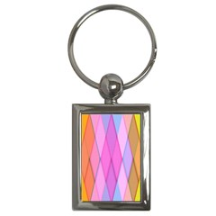 Graphics Colorful Color Wallpaper Key Chains (rectangle)