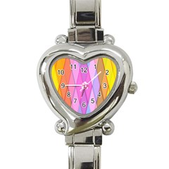 Graphics Colorful Color Wallpaper Heart Italian Charm Watch
