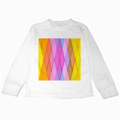 Graphics Colorful Color Wallpaper Kids Long Sleeve T-Shirts