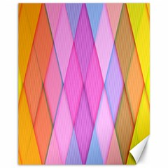Graphics Colorful Color Wallpaper Canvas 11  x 14