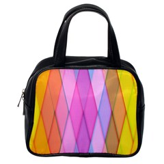 Graphics Colorful Color Wallpaper Classic Handbags (One Side)