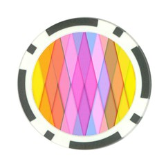 Graphics Colorful Color Wallpaper Poker Chip Card Guard (10 pack)