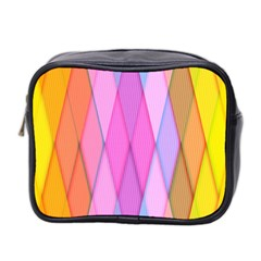 Graphics Colorful Color Wallpaper Mini Toiletries Bag 2 Side