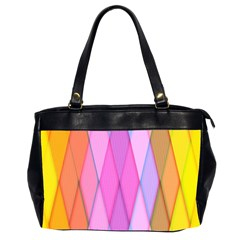 Graphics Colorful Color Wallpaper Office Handbags (2 Sides)