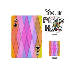 Graphics Colorful Color Wallpaper Playing Cards 54 (Mini)
