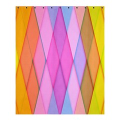 Graphics Colorful Color Wallpaper Shower Curtain 60  x 72  (Medium)