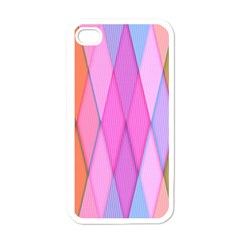 Graphics Colorful Color Wallpaper Apple iPhone 4 Case (White)