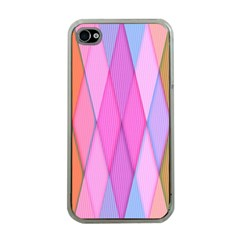 Graphics Colorful Color Wallpaper Apple iPhone 4 Case (Clear)