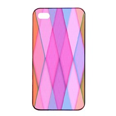 Graphics Colorful Color Wallpaper Apple Iphone 4/4s Seamless Case (black)
