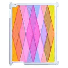 Graphics Colorful Color Wallpaper Apple iPad 2 Case (White)