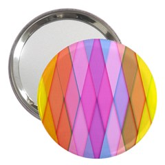 Graphics Colorful Color Wallpaper 3  Handbag Mirrors