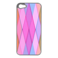 Graphics Colorful Color Wallpaper Apple iPhone 5 Case (Silver)