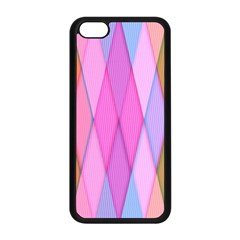 Graphics Colorful Color Wallpaper Apple iPhone 5C Seamless Case (Black)