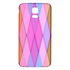 Graphics Colorful Color Wallpaper Samsung Galaxy S5 Back Case (White)