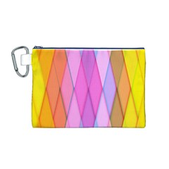 Graphics Colorful Color Wallpaper Canvas Cosmetic Bag (M)
