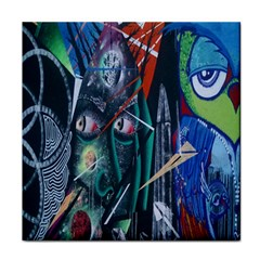 Graffiti Art Urban Design Paint Tile Coasters