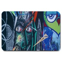 Graffiti Art Urban Design Paint Large Doormat