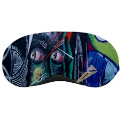 Graffiti Art Urban Design Paint Sleeping Masks