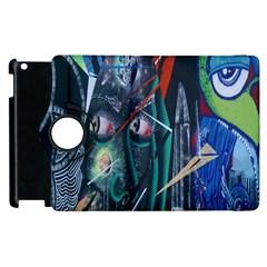 Graffiti Art Urban Design Paint Apple iPad 2 Flip 360 Case