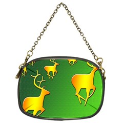 Gold Reindeer Chain Purses (one Side)