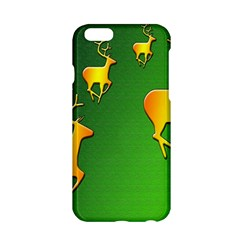 Gold Reindeer Apple iPhone 6/6S Hardshell Case