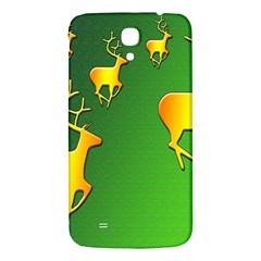 Gold Reindeer Samsung Galaxy Mega I9200 Hardshell Back Case