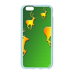 Gold Reindeer Apple Seamless iPhone 6/6S Case (Color)