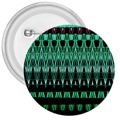 Green Triangle Patterns 3  Buttons