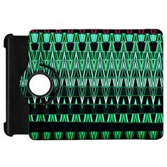 Green Triangle Patterns Kindle Fire HD 7