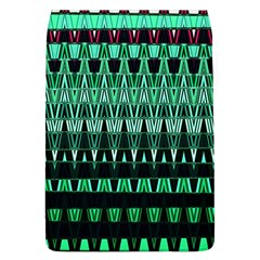 Green Triangle Patterns Flap Covers (l)